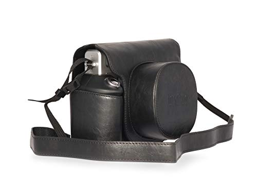 Fujifilm custodia instax WIDE 300Black in similpelle custodia originale instax per fotocamera Wide 300–Colore nero negrowide