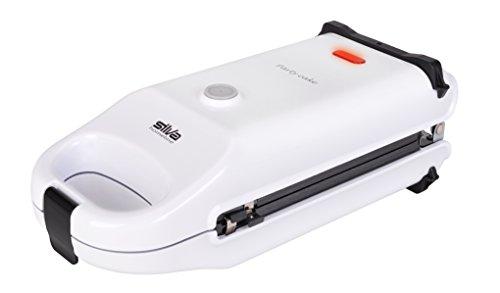 Silva-Homeline 303 cm 303 - Máquina para hacer donuts y gofres (acero inoxidable y plástico), color blanco