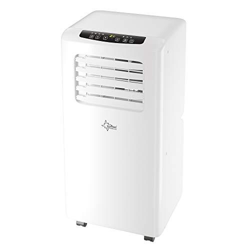 SUNTEC Climatiseur Mobile IMPULS Eco R290-7000/9000 /12000 BTU Climatiseur Portables, Ventilateur, Déshumidificateur, Set Isolation fenêtre, Tuyau d'évacuation (Impuls 2.6 Eco R290-9000 BTU)