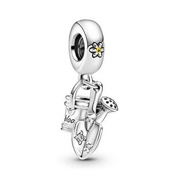 Pandora 925 pendentif en argent sterling bricolage convient aux bracelets breloques originales arrosoir truelle balancent des perles pour la fabrication de bijoux Kralen nouveau