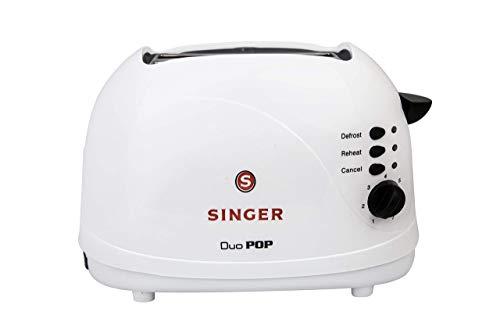Singer Duo Pop 2 Slice 700 Watts Popup Toaster