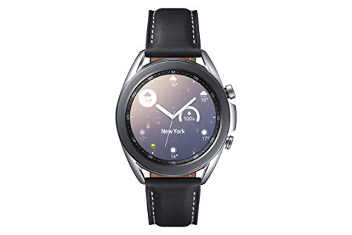Samsung - Montre Galaxy Watch 3 R850 - 41 mm Version Bluetooth - Mystic Silver [+ Bon d'achat Amazon]