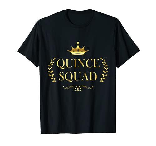 Quinceañera - Regalo de celebración de quinceañera para 15 cumpleaños Camiseta