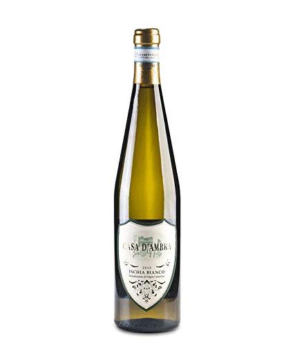 Naturischia - 2 Bottiglie di Vino bianco Casa D'Ambra'Ischia Bianco' - Isola D'Ischia