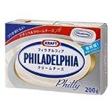 【冷蔵便】クラフトフィラデルフィアクリームチーズ(フィリー) / 200g TOMIZ/cuoca(富澤商店)