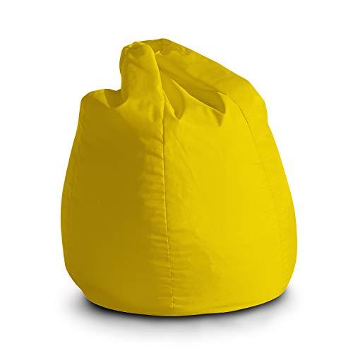 Pouf Poltrona Sacco per Bambini Bag Jive 65x65x90cm Made in Italy in Tessuto antistrappo Imbottito...