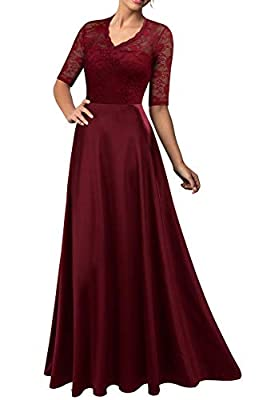 Polyester,Spandex Zip to Center Back,V-neck,High Waist,Slim sexy long dress Hand Wash Only In Low Temperature Or Dry Washing,Please Don't Ironing For Cocktail Party Wedding Prom Evenning Party formal dress Our products are based on US sizes. Be caref...