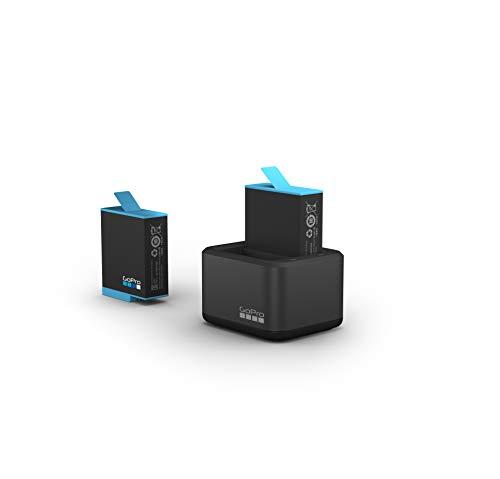 Caricabatteria doppio + Batteria (HERO9 Black) - Accessorio ufficiale GoPro