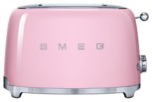 Smeg TSF01PKEU tostapane 2 fetta/e Rosa 950 W