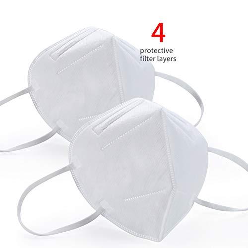 5/10/15/20 PCS KN95 N95 FFP2 KF94 PM2.5 Anti Polvere Protezione Esterna Anti Polline di Scarico Protetta Salute,20 PCS