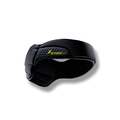 Storelli ExoShield Head Guard | Sports Headband | Protective Soccer Headgear | Black | Size 4