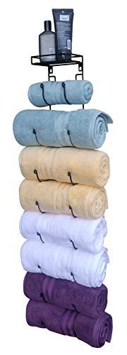 Premium Presents Bath Towel Rack in Bathroom. Wine Racks in...