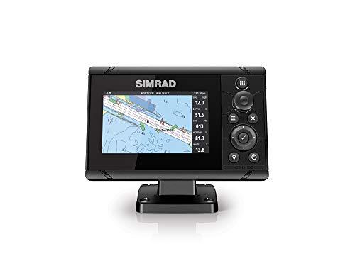 Simrad Cruise 5-5 pollici GPS Chartplotter con 83/200 trasduttore precaricato C-MAP US mappe costiere, 000-14995-001