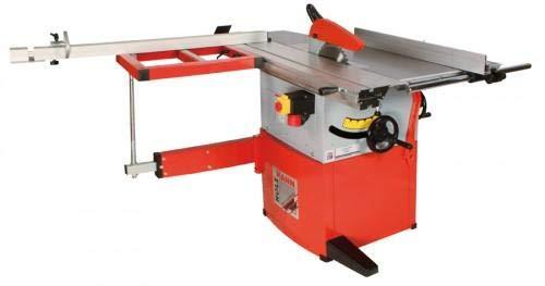 Holzmann TS 250FL | Formatkreissäge | Kreissäge | Kreis Säge | Inkl. Tisch + Schlitten | 230V / 400 V | Für Profis & Heimwerker