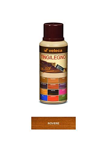 Veleca TIVAL COLOR TINGILEGNO Rovere - ml. 250 - TINGENTE PER LEGNO DA INTERNO