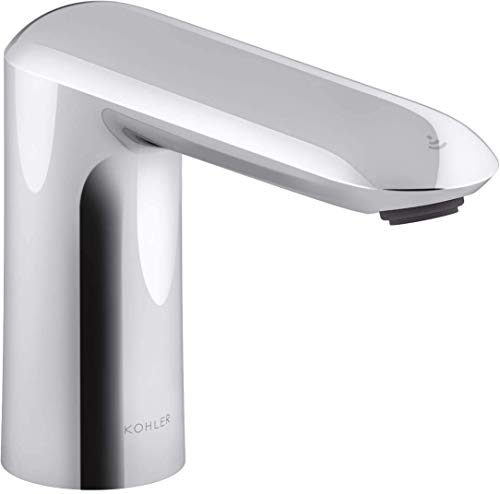 Kohler 18656IN-ND-CP Metal Touchless Sensor Faucet, Silver, Chrome Finish