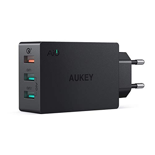 AUKEY Quick Charge 3.0 Caricatore USB da Muro...