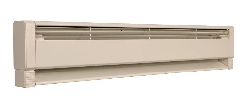 Fahrenheat PLF Liquid Filled Electric Hydronic Baseboard Heater, 46 inches, Navajo White