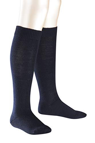 Falke Comfort Wool K KH Calzini, Blu (Dark Marine 6170), 27-30 Unisex-Bambini