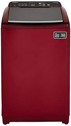 Whirlpool 7.5 Kg Fully-Automatic Top Loading Washing Machine (STAINWASH DEEP CLEAN (N) 7.5 10 YMW, Wine)