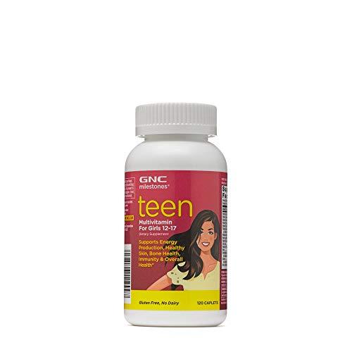GNC milestones Teen - Multivitamin for Girls 12-17 - (Product) RED 1