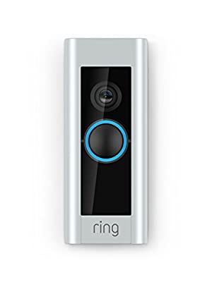 1080p HD video doorbell that lets you see, hear and speak to people from your phone, tablet, or select Echo device. Includes privacy features, such as customizable privacy zones and audio privacy, to focus only on what's relevant to you. Get notifica...