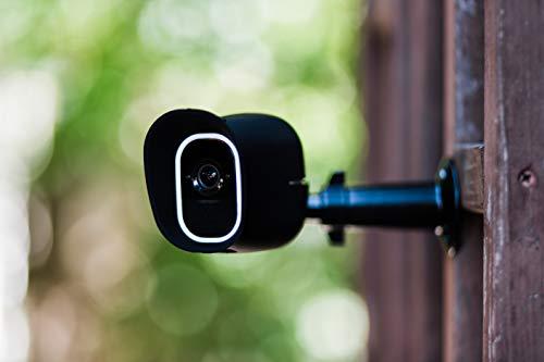 31qslFIDcsL Bon plan Arlo Pro 2 | Caméra de Surveillance WiFi sans Fils - Pack de 3, Batteries Rechargeables & Accessoire Arlo Bras de F...