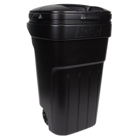 Hefty 32-Gallon Lidded Wheeled Plastic...
