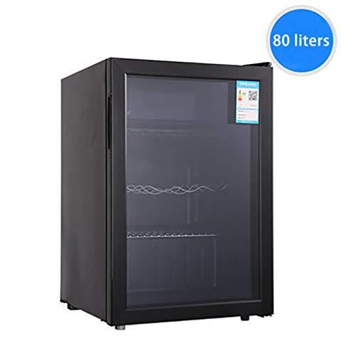 LED - Frigorifero da Vino da Tavolo | 5-12 C | Refrigeratore Per Vino Isolato 85L | Pulsante di...