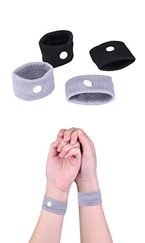 2 paires de bracelets anti-nausées pour le mal des transports pour enfants...