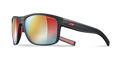 Julbo Renegade Performance Sunglasses - REACTIV Zebra Light - Black/Red