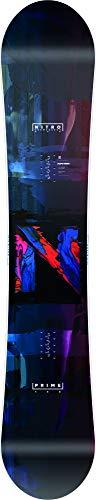 Nitro Snowboards Prime Overlay '20 BRD all Mountain - Snowboard da Uomo, 158 cm, Multicolore