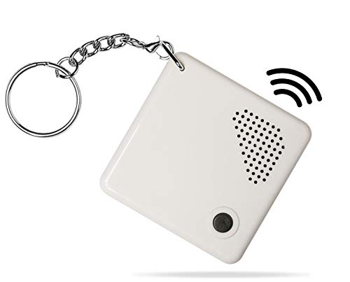 Talking Clock Keychain for Blind - Clear North American...