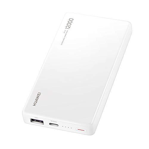 Huawei Cp12S 12000 40W Supercharge Power Bank, Bianco