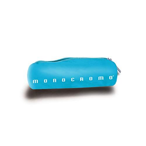 Pigna Monocromo, Astuccio, Astuccio Portapenne, formato Tombolino colore Azzurro Fluo