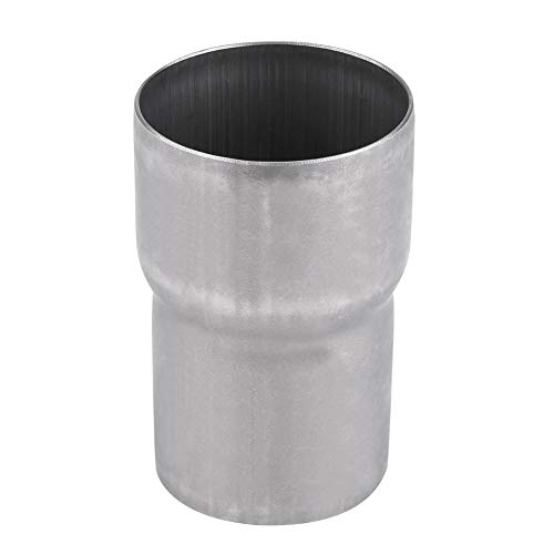 Exhaust Pipe Adapter Connector, Universal Exhaust Adapter for All Pickup Models, 2' ID to 2.4' ID