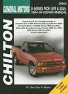 Chilton Repair Manual for Chevy S-Series Pick-Ups, SUVs, GMC Sonoma, Jimmy, Envoy, Isuzu Hombre, Oldsmobile Bravada (1994-2004)