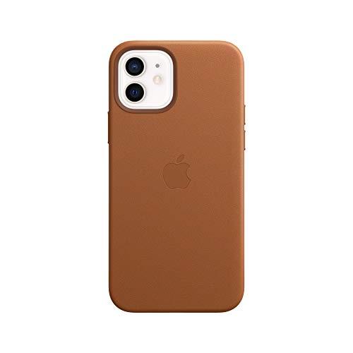 MagSafe対応iPhone 12 | 12 Proレザーケース - サドルブラウン