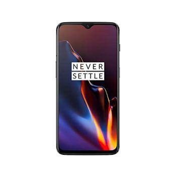 OnePlus 6T Smartphone débloqué 4G (Ecran : 6,41 pouces - 6 Go RAM - 128 Go Stockage - Double Nano-SIM - Android) Mirror Black [Version française]