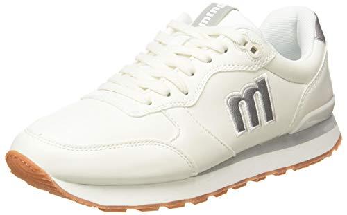 Mustang JOGGO, Zapatillas Deportivas Mujer, Blanco, 37 EU
