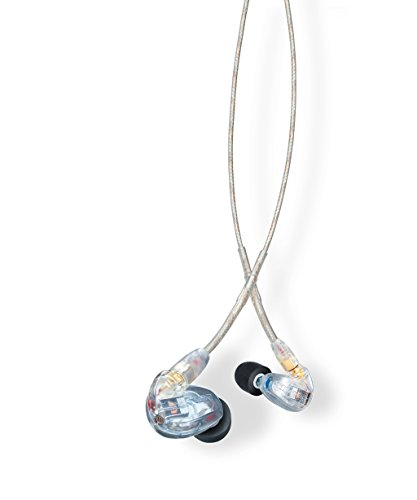 Shure, Audífonos intrauriculares con Aislamiento de sonido, SE315-CL
