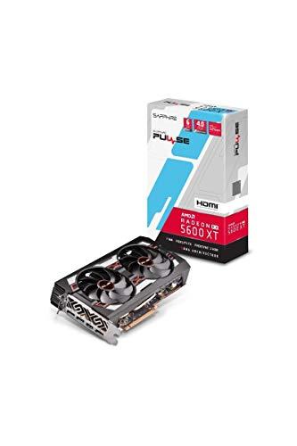 SAPPHIRE PULSE RADEON RX 5600 XT 6G GDDR6 HDMI/TRIPLE DP OC W/BP (UEFI)