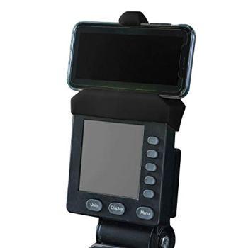 Support de téléphone fabriqué pour les moniteurs PM5 de rameur, SkiErg et BikeErg - Silicone Fitness Products