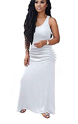 Material: Polyester and cotton, soft fabric makes you feel comfortable. (The skirt forks on both sides) Features: Off shoulder, letter print, long sleeve, sides split, loose fit, casual wear, long sundress, side slit party maxi dress, long beach dres...