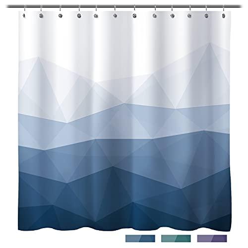 Sunlit Designer Shower Curtain,Popular Shower Curtain, Ombre Blue...