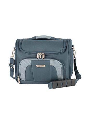 Travelite Handgepäck Kulturtasche mit Aufsteckfunktion, Gepäck Serie ORLANDO: Klassisches Weichgepäck Beautycase im zeitlosen Design, 098492-20, 19 Liter, 0,9 kg, marine (blau)
