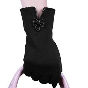 Womens Winter Touch Screen GlovesWarm Fleece Lining Driving Texting Gloves