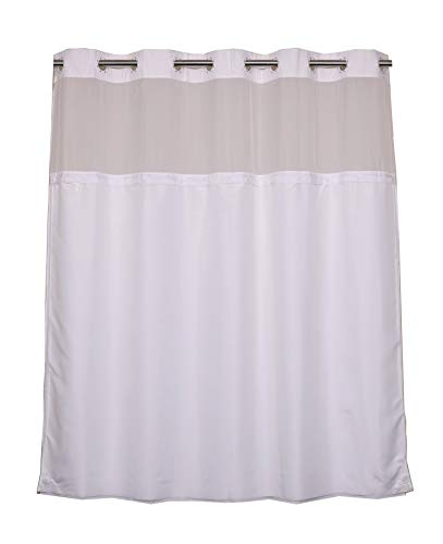 RiverDream Snap in Fabric Shower Curtain Liner Replacement - 70