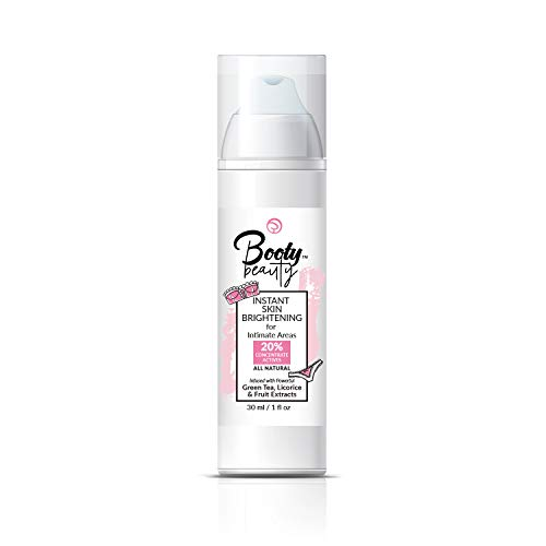 BOOTY BEAUTY - Intimate Skin Lightening for Sensitive Areas - Instant Results - No Hydroquinone - All-Natural, Fastest, Strongest, Safest