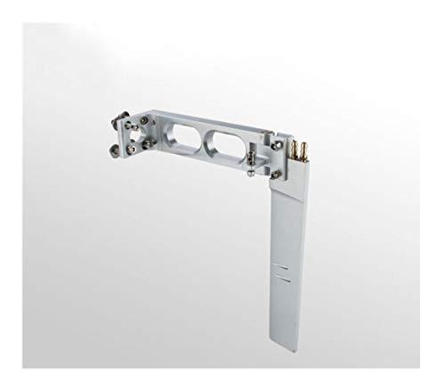 Zimaes Excellent 128 * 180mm en Alliage d'aluminium métal Eau de Volant for RC Racing Essence Bateau O Bateau 180mm Volant Lisse ( Color : 1 )
